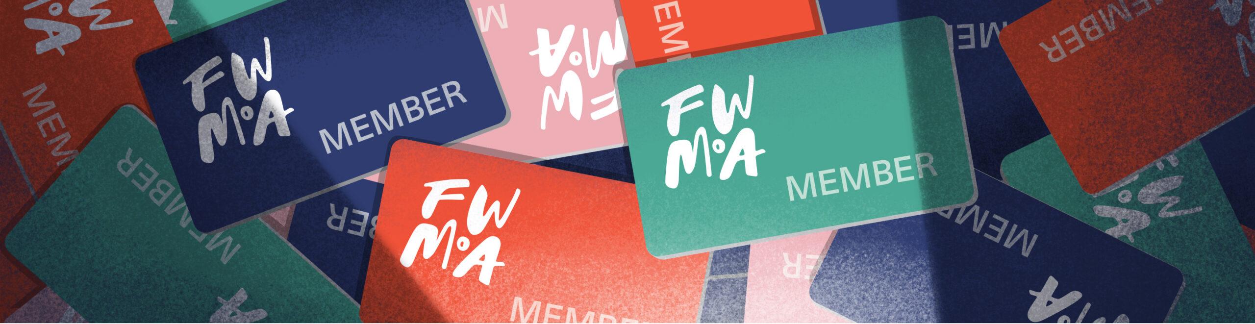Fort Wayne Museum of Art membership cards