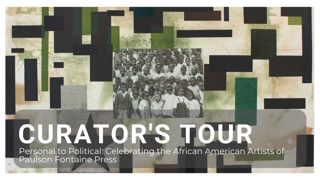 Curator's Tour: Personal to Political