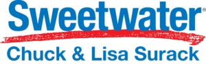 Sweetwater and Chuck and Lisa Surack Logo