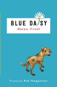 Cover of the book Blue Daisy by Helen Frost.