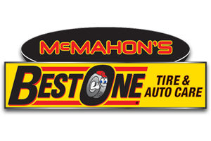 McMahon's Best One Tire and Auto Care Logo